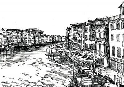 Плакат Венеция B