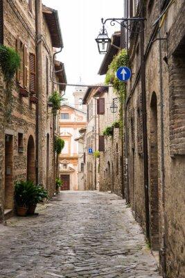 Плакат Vicolo Romantico в Италии