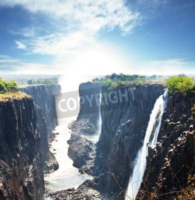 Плакат Виктория водопад