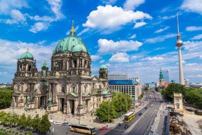 Плакат Вид собора Берлин
