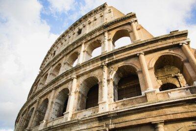Плакат Вид Колизея в Риме, Италия в течение дня