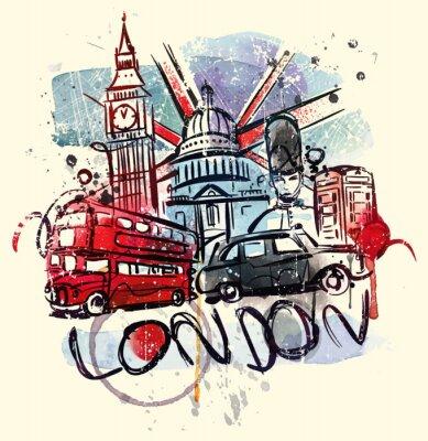 Плакат Посетите Лондон