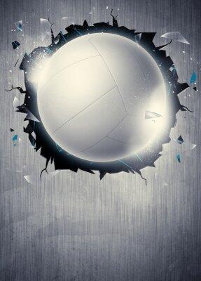 Плакат Волейбол фон