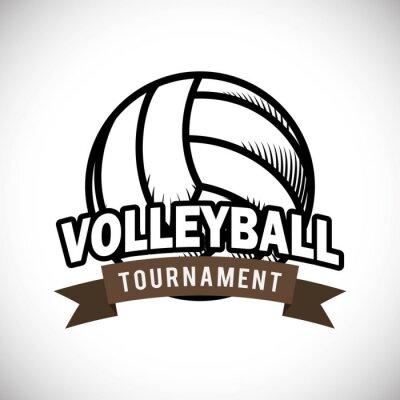 Плакат Дизайн Волейбол