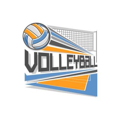 Плакат Волейбол логотип