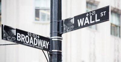 Плакат Уолл-стрит