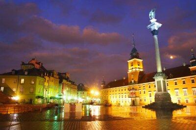 Плакат Варшава