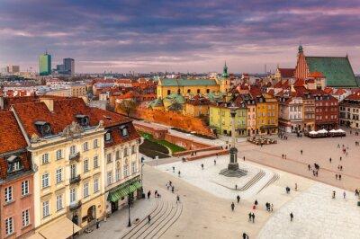Плакат Warszawa Plac zamkowy