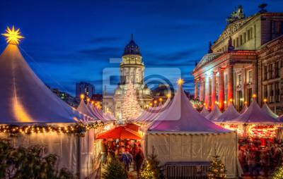 Плакат Weihnachtsmarkt Берлин