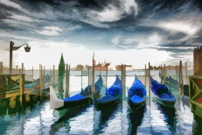 Плакат Венеция ОБРАЗ