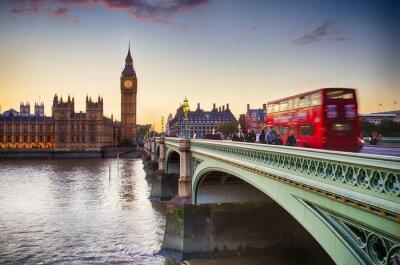 Плакат Вестминстерский мост