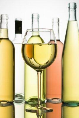 Плакат белое вино