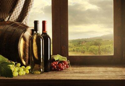 Плакат Вино