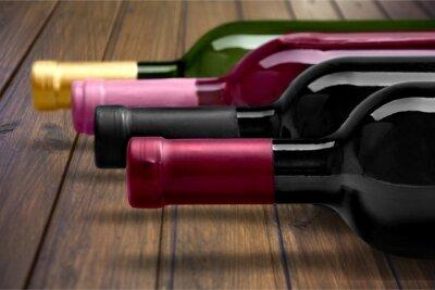 Плакат Бутылка вина.