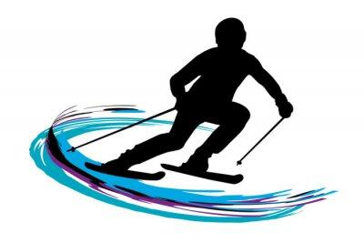 Плакат Зимние виды спорта - 14