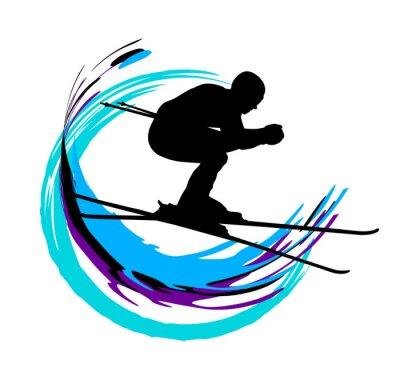 Плакат Зимние виды спорта - 4