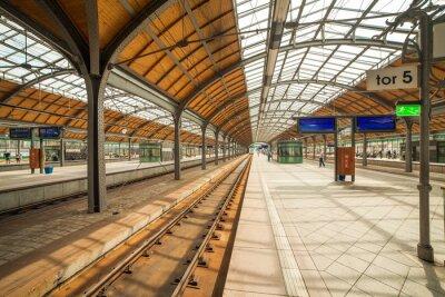 Плакат Вроцлав вокзал
