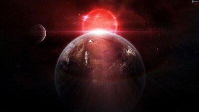 Плакат космос, галактика,
