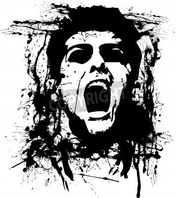 Плакат Зомби-хоррор