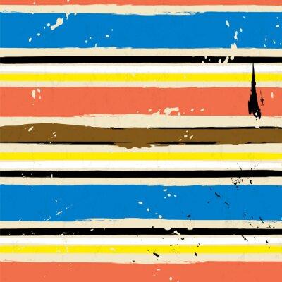 Наклейка абстрактный фон, с инсультами и брызг, полоса рисунок,
