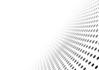 Наклейка Аннотация пунктир перспектива фона - эффект градиента иллюстрации, вектор