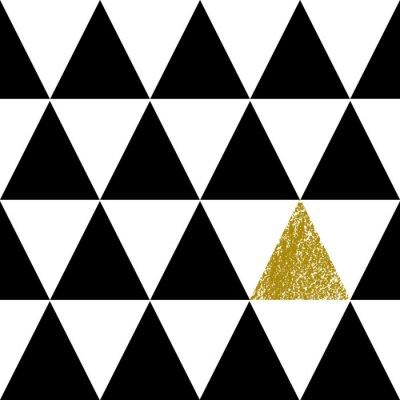Наклейка Абстрактный геометрический узор