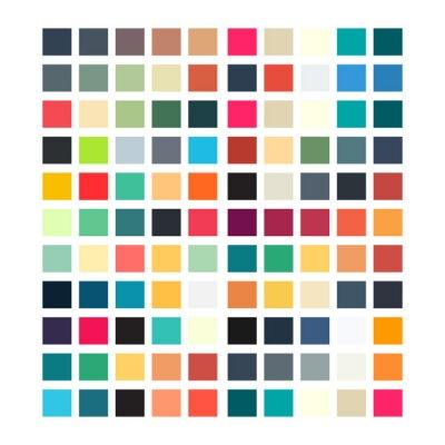 Наклейка Абстрактный геометрический ретро рисунок для вашего дизайна