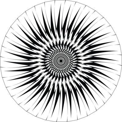 Наклейка Аннотация Геометрический дизайн. вектор фон