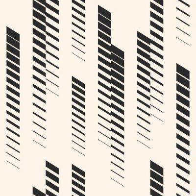 Наклейка Абстрактный графический бесшовные модели с вертикальными линиями, дорожки, полутоновых полос. Спортивный рисунок. Городской рисунок.