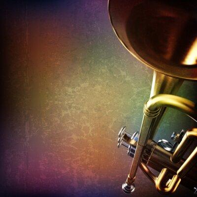Наклейка абстрактный фон гранж с трубы