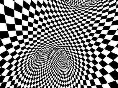 Наклейка Абстрактные иллюзия