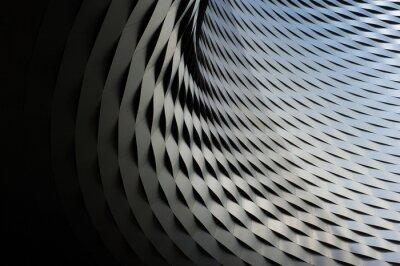 Наклейка Абстрактная металлическая структура с повторяющимся фоном картины