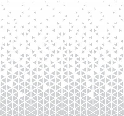 Наклейка абстрактный бесшовный геометрический треугольник узор вектор фон
