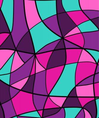 Наклейка Абстрактный фон цветного стекла