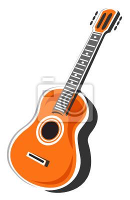Наклейки для гитары акустической