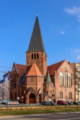 Наклейка Adventkirche им Berliner Bötzowviertel