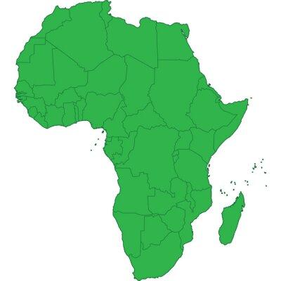 Наклейка Африка
