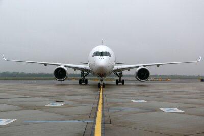 Наклейка Airbus A350 фронтальная