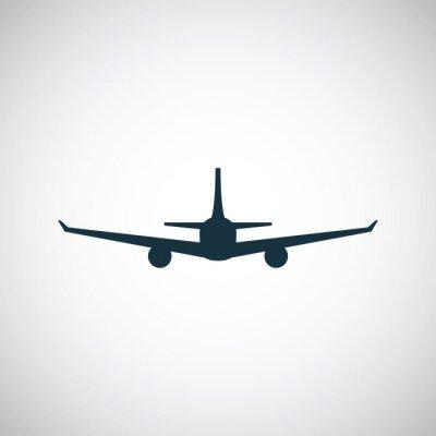Наклейка Значок самолета