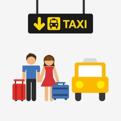 Наклейка дизайн терминала аэропорта