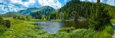 Наклейка Альпийский пейзаж