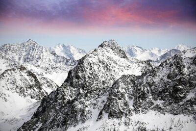Наклейка Альпы