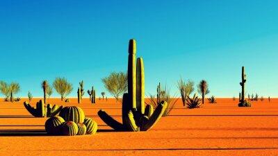 Наклейка Американская пустыня