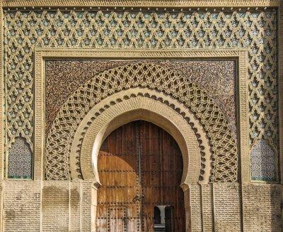 Наклейка Древние ворота в Мекнес, Марокко