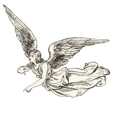 Наклейка Ангел