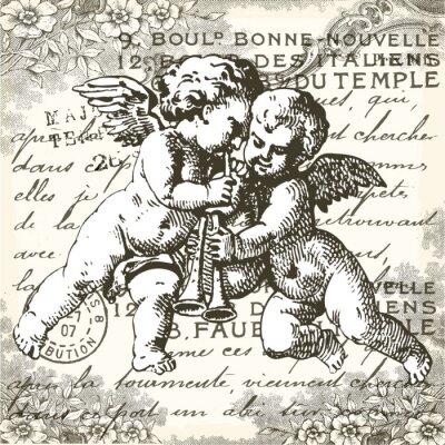 Наклейка Ангелы