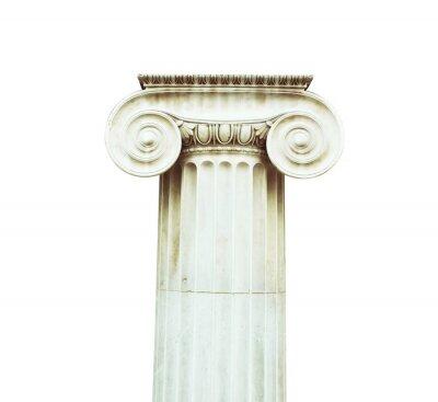 Наклейка Античная колонна в дорическом стиле