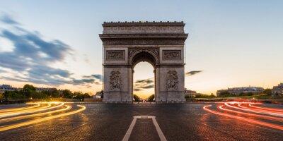 Наклейка Триумфальная арка в Париже