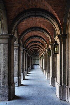 Наклейка арка архитектура