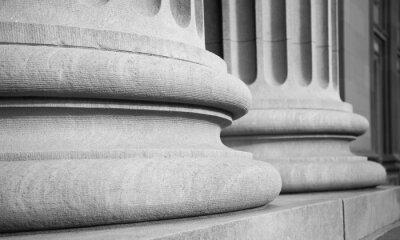 Наклейка Архитектурные Столбцы в классическом Федерального Buuilding